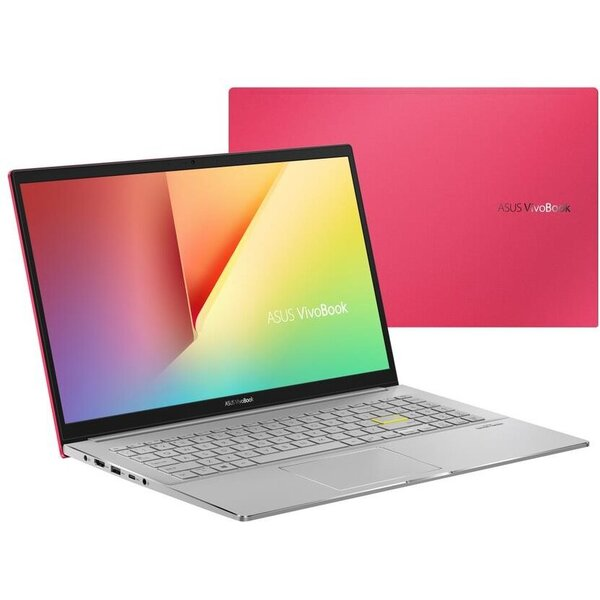 ASUS VivoBook S15 S533FA červený
