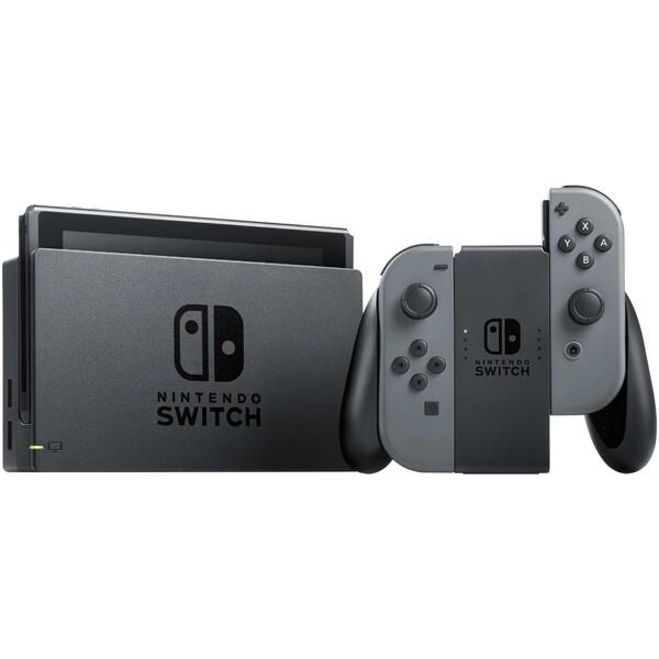 Nintendo Switch konzole šedá