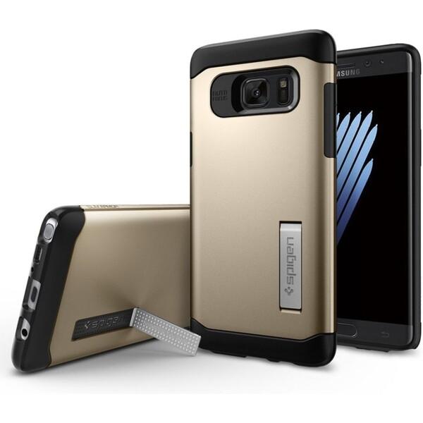 Spigen Slim Armor odolný kryt Samsung Galaxy Note 7 zlatý