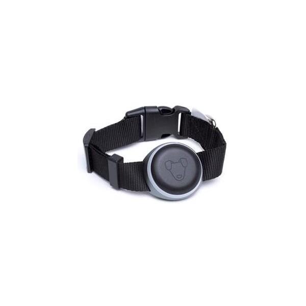 Mishiko Premium GPS a fitness obojek Černá