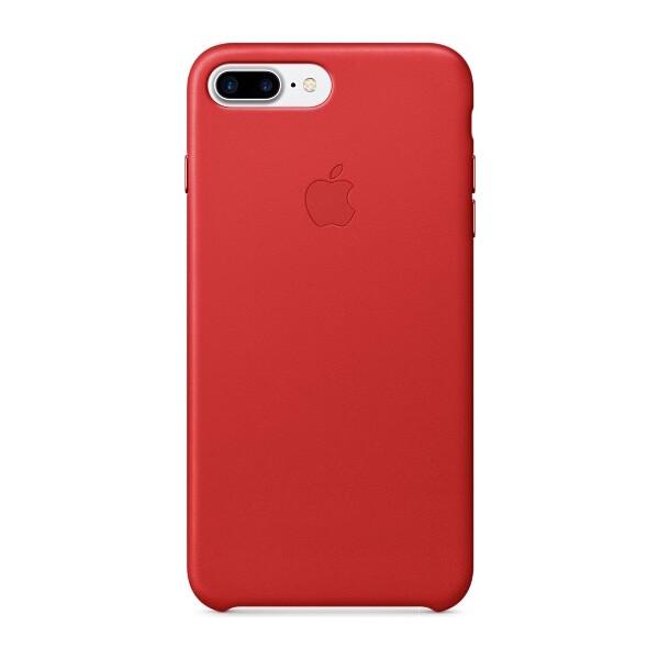 Pouzdro APPLE iPhone 7 Plus Leather Case Červená