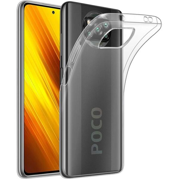 Smarty ultratenké TPU kryt 0,5mm Xiaomi POCO X3 čiré