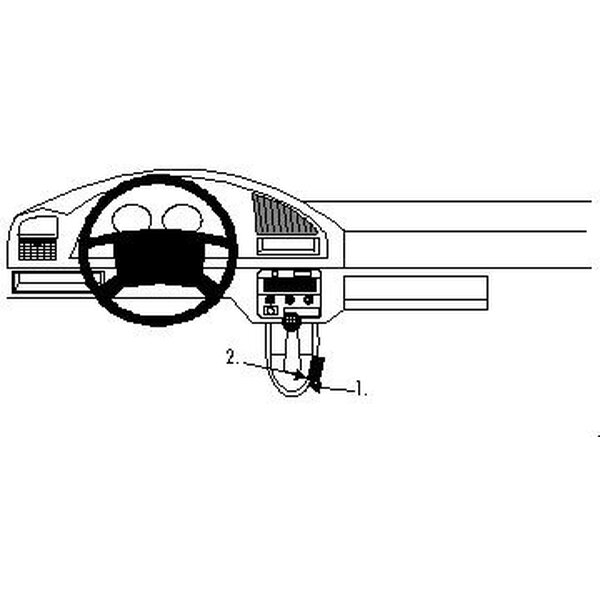 Brodit ProClip montážní konzole pro Citroen Berlingo 97-02/Peugeot Partner 97-02
