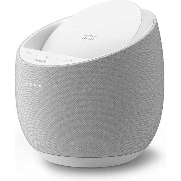 Belkin SOUNDFORM ELITE by Devialet Hi-Fi inteligentní reproduktor + bezdrátová nabíječka, bílý
