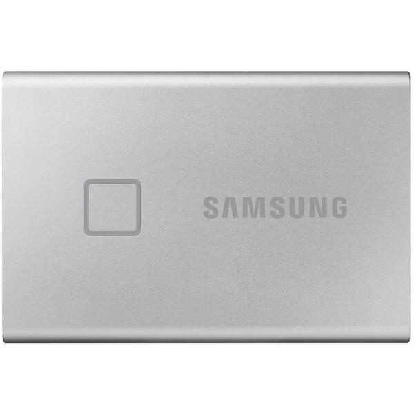 Samsung Portable SSD T7 Touch 1TB stříbrný