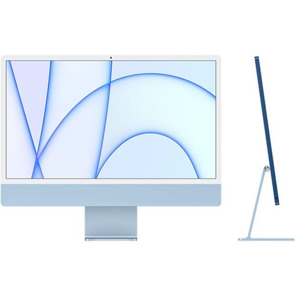 """Apple iMac 24"""" (2021) / 8GPU / 512GB modrý"""
