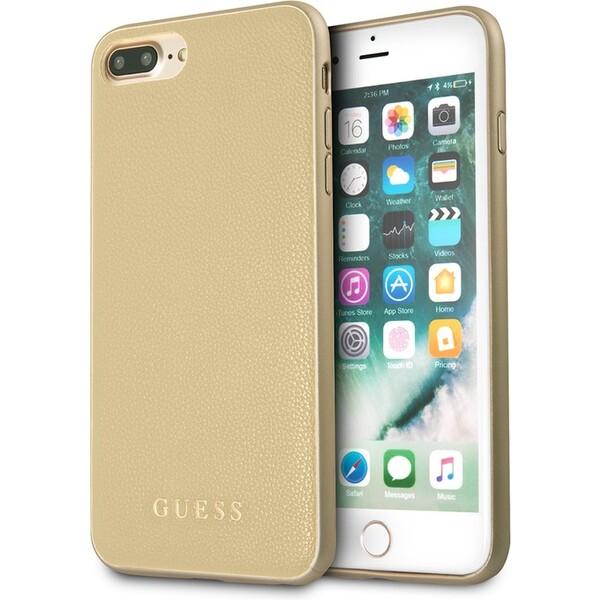 Pouzdro GUHCP7LIGLGO Guess IriDescent TPU iPhone 7 Plus Zlatá