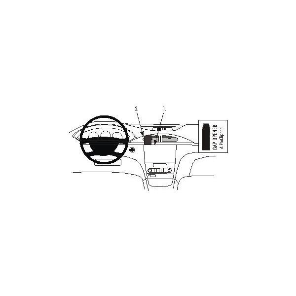 Brodit ProClip montážní konzole pro Renault Laguna 05-07