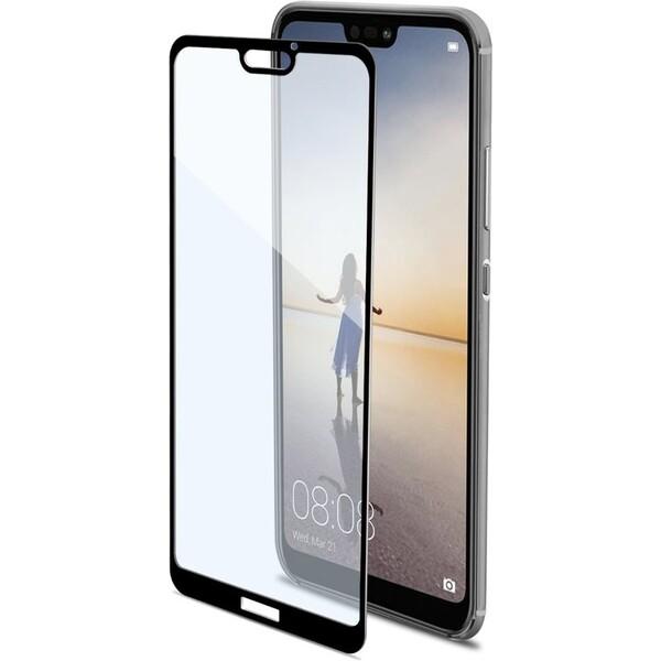 CELLY Full Glass Huawei P20 Lite FULLGLASS744BK Černá