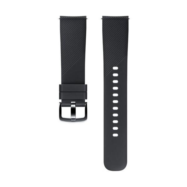 Samsung silikonový řemínek Samsung Gear Sport černý ET-YSN60MBEGWW Černá