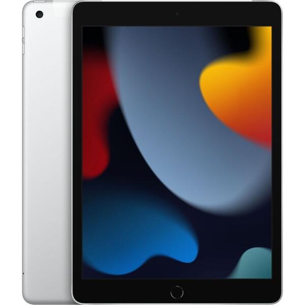 """Apple iPad 10,2"""" 64GB Wi-Fi + Cellular stříbrný (2021)"""