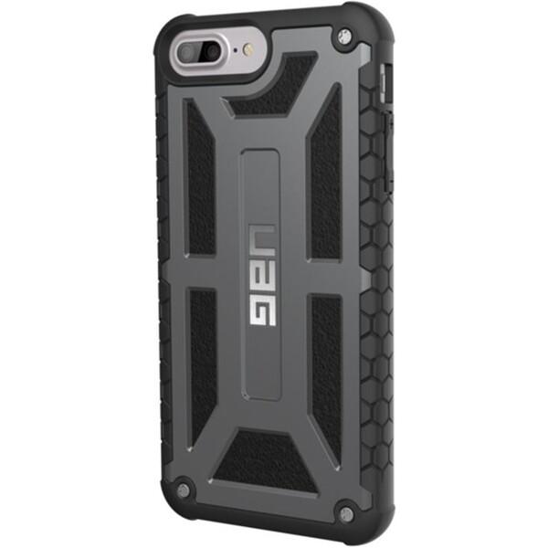 Pouzdro UAG Monarch Premium Line - Graphite -iPhone 7+ / 6s+ Černá