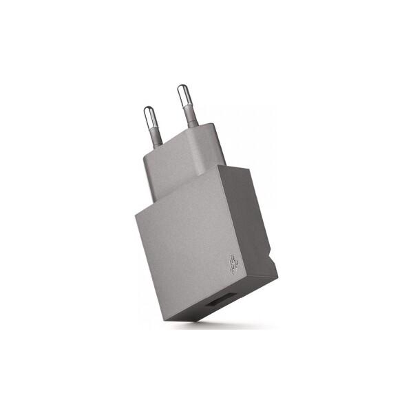 USBEPOWER POP cestovní nabíječka USB 1A stříbrná
