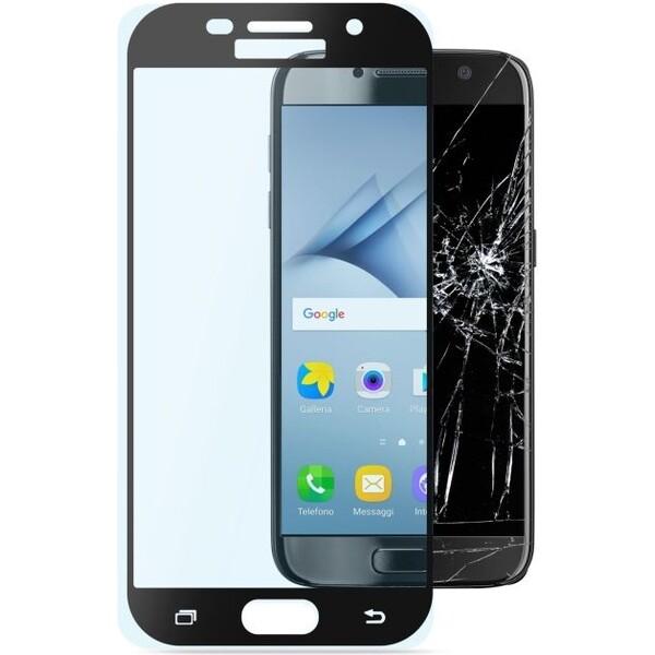 CellularLine Capsule ochranné tvrzené sklo pro Samsung Galaxy A3 (2017), černé TEMPGCABGALA317K Černá