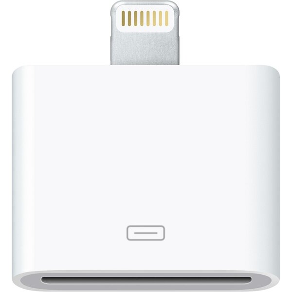 Apple Lightning to 30-pin Adapter md823zm/a Bílá