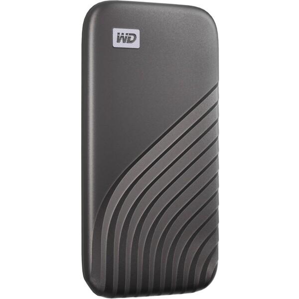 WD My Passport externí SSD 500GB vesmírně šedý