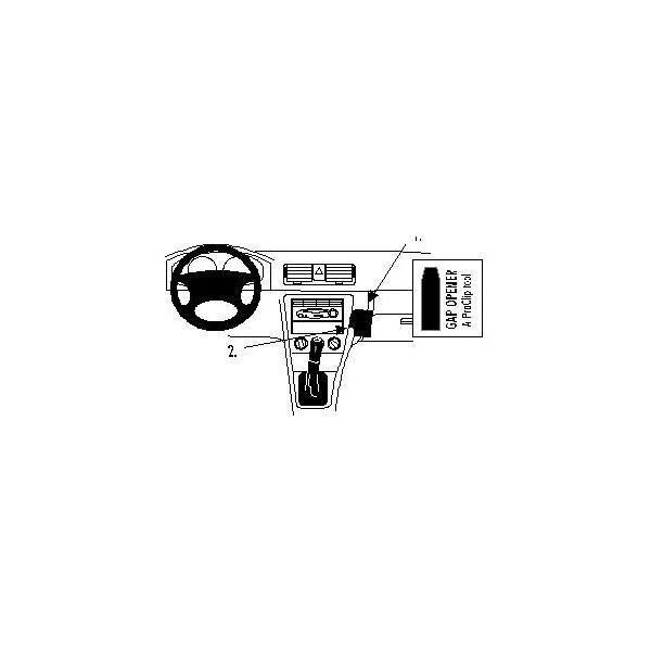 Brodit ProClip montážní konzole pro Škoda Octavia SLX/GLX 99-02