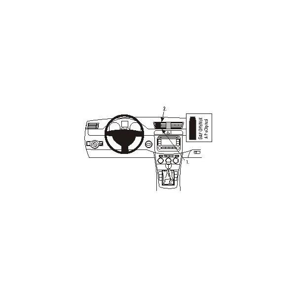 Brodit ProClip montážní konzole pro Volkswagen Passat 05-14/CC 09-11, na střed 853603 Černá