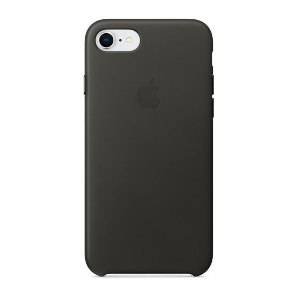 Pouzdro Apple kožené iPhone 8/7 uhlově šedé Uhlově šedá