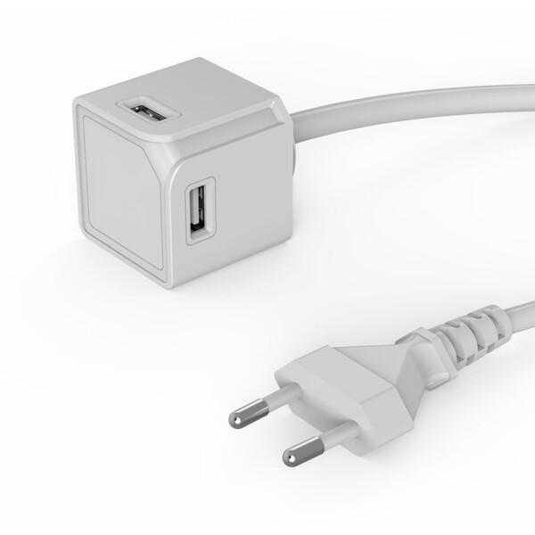 PowerCube USBcube Extended 4x USB-A zásuvka bílá