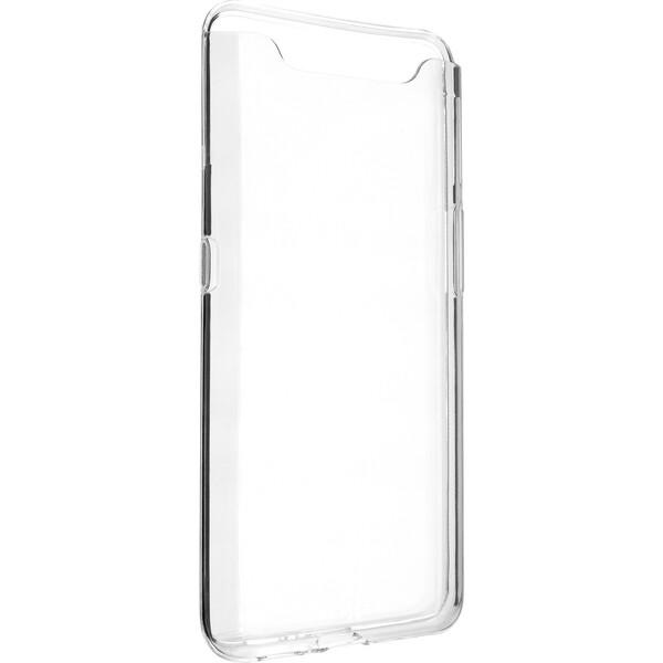 FIXED TPU pouzdro Samsung Galaxy A80 čiré