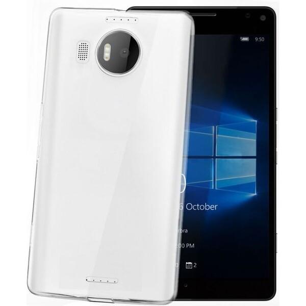 CELLY Gelskin pouzdro Microsoft Lumia 950 XL čiré