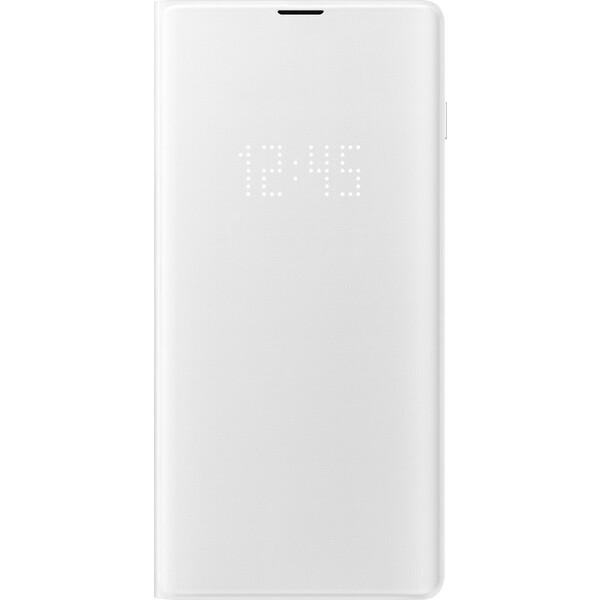 Samsung LED View flipové pouzdro Samsung Galaxy S10+ (EF-NG975PWEGWW) bílé