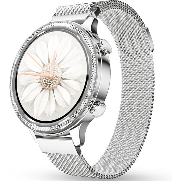 Aligator Watch Lady chytré hodinky stříbrné