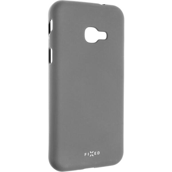 FIXED Story silikonový kryt Samsung Galaxy Xcover 4/4S šedý