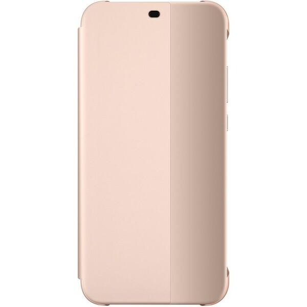 Huawei flipové pouzdro Huawei P20 Lite růžové 51992315 Růžová