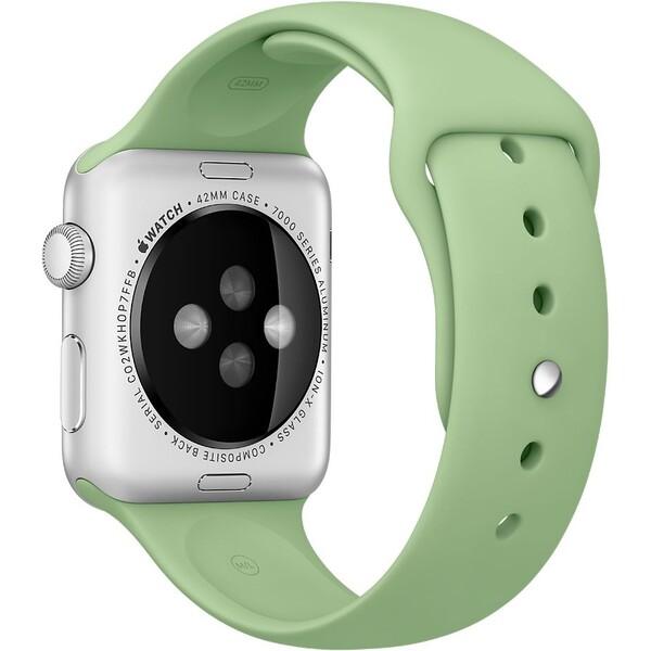 Apple Watch sportovní řemínek 42mm mátově zelený