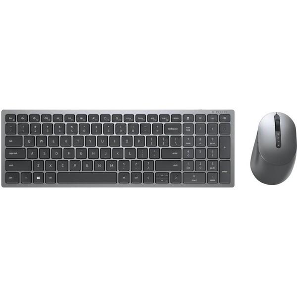 Dell KM7120W bezdrátový set US šedý