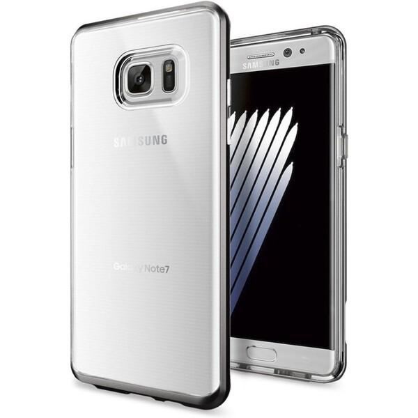 Spigen Neo Hybrid Crystal kryt Samsung Galaxy Note 7 šedý
