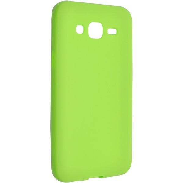 Pouzdro FIXED TPU gelové Samsung Galaxy J5 zelené Zelená