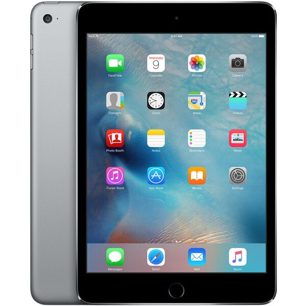 Apple iPad mini 4 16GB Wi-Fi + Cellular MK6Y2FD/A Šedá