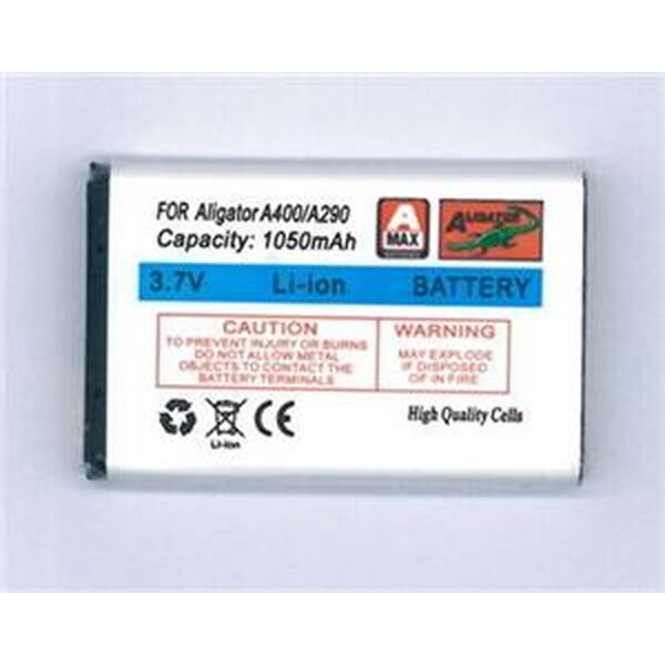 Baterie Aligator BLA0180 1050mAh Bílá