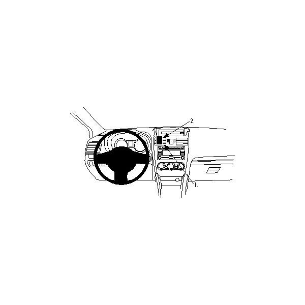 Brodit ProClip montážní konzole pro Subaru XV 12-13