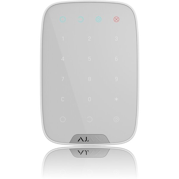 Ajax KeyPad bezdrátová klávesnice bílá