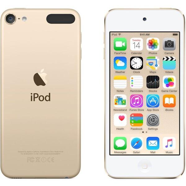 Apple iPod touch 6. generace 64GB Zlatá