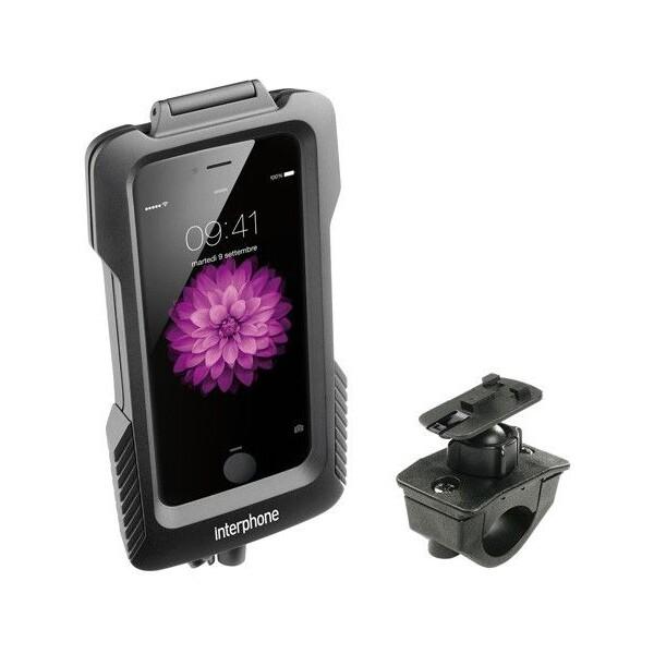 Interphone voděodolné pouzdro na řídítka pro Apple iPhone 6 Plus/6S Plus černé