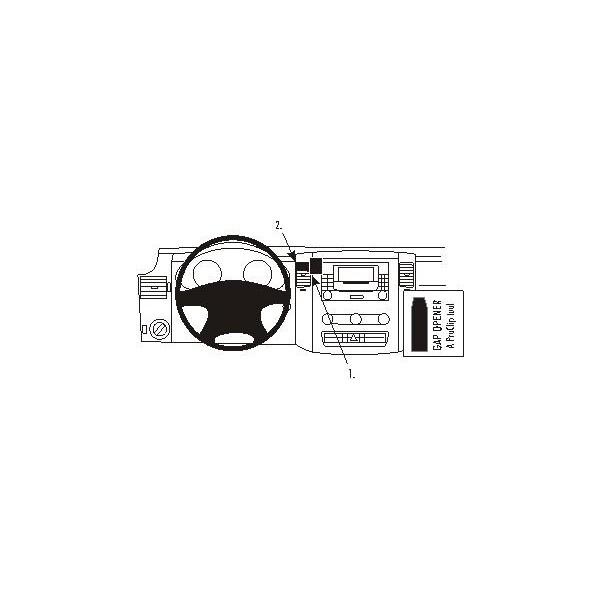 Brodit ProClip montážní konzole pro Mercedes Benz Sprinter 07-/Volkswagen Crafter 07-