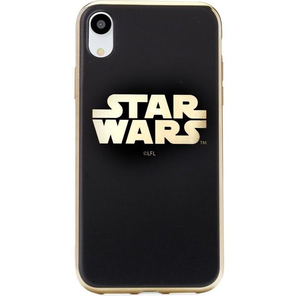 Star Wars zadní kryt iPhone X zlatý 3840a04ca82