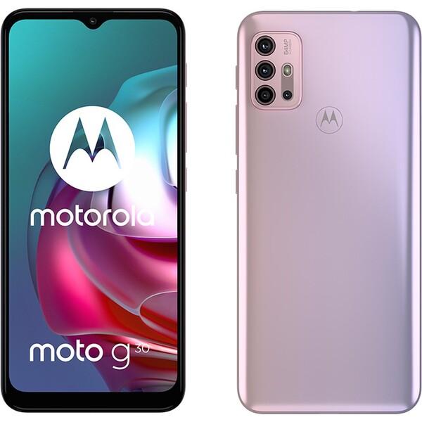Motorola Moto G30 6+128GB DS GSM tel. Pastel Sky