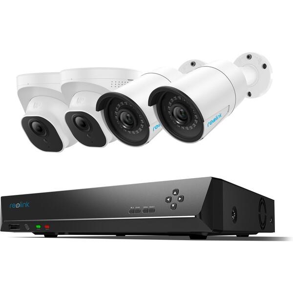 Reolink RLK8-520B2D2 5MP 8kanálový bezpečnostní kamerový videosystém PoE s 2TB HDD NVR
