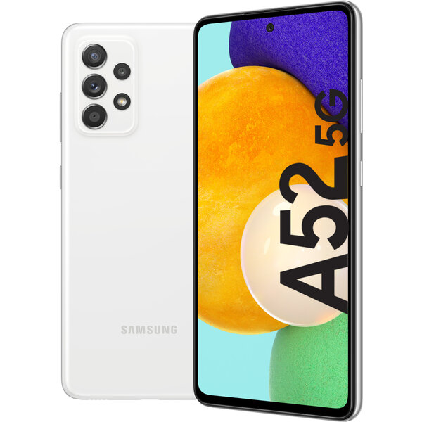 Samsung Galaxy A52 5G 6GB+128GB bílý