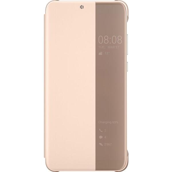 Huawei S-View Cover Huawei P20 růžové 51992357 Růžová