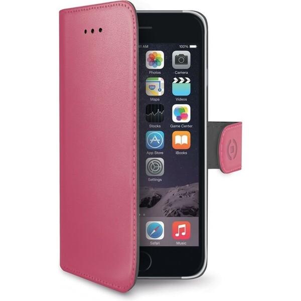 Pouzdro CELLY Wally Apple iPhone 7 růžové Růžová