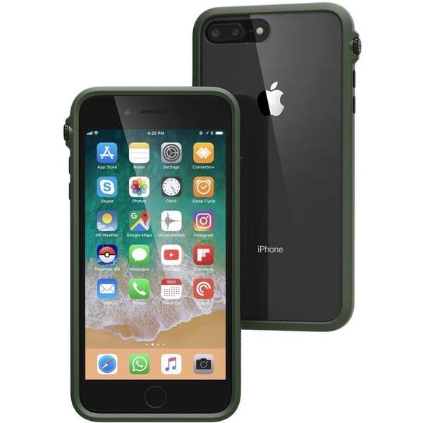 Pouzdro CATALYST Impact Protection APPLE iPhone 8+/7+ zelené Zelená