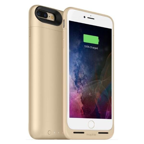 Mophie Juice Pack Air pouzdro s baterií 2420 mAh Apple iPhone 7 Plus/8 Plus zlaté
