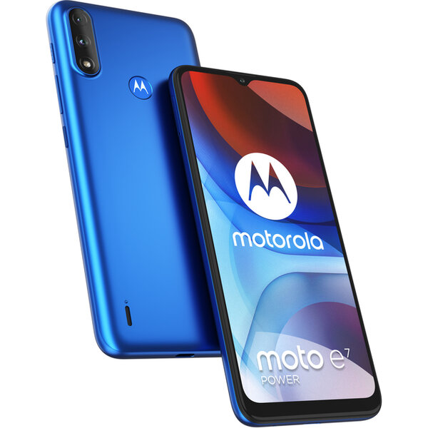 Motorola Moto E7 Power 4GB+64GB Dual SIM Digital Blue